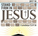 Stand Firm in Jesus